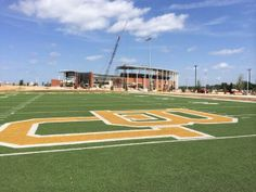 The Floyd Casey Stadium turf has found a new home: the tailgating area of McLane Stadium. #SicEm #Baylor