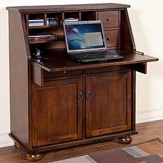 dropleaf, desk armoir, drop leaf, laptops, sunni design, desks, leaves, santa fe, laptop desk