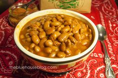The Blue House Blog: Pinto Bean Seasoning Mix and Crock Pot Pinto Beans.
