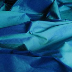 Cerulean Blue Silk  perfection!  Everything in my life could be this under the sea color and it would be bliss