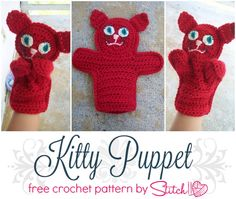 Cat Puppet - Stitch1