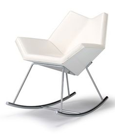 Chuck Rocking Chair - Designer: Jean-Marie Massaud