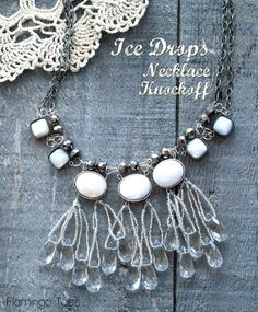 Ice Drops Necklace Knockoff