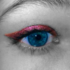 Shimmery Cat-eye :) #Sephora #Prom #PromBeauty #Makeup #Eyes #TheBeautyBoard
