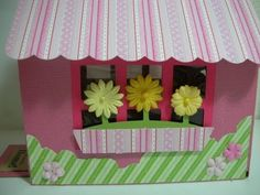 3D House Treat Box using the Sweet Tooth Boxes cartridge