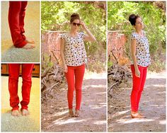 RED - flare to skinny