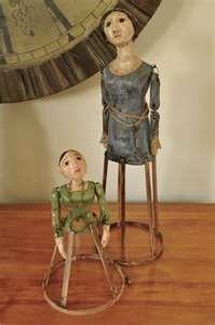 Handmade Santos Cage Dolls by Jennifer Rizzo -