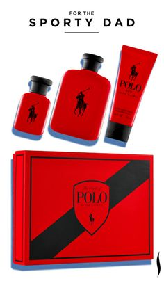 Father's Day Gift Inspiration: Ralph Lauren Polo Red Gift Set #Sephora #FathersDay #Gifts #GiftIdeas