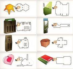 Packaging Design Templates in Vector Download