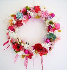 Beautiful handmade wreath