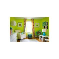 lime green nursery