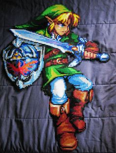 Link made out of beads!