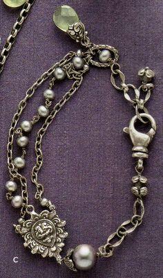 Pearl and drop bracelet, Sundance