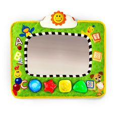 Baby Einstein travel mirror is a must have for your car!