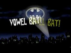 Vowel Bat Video- My kids LOVE this. Great for teaching short vowel sounds. :)
