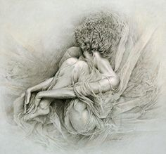 """Saatchi Online Artist Walter Girotto; Drawing, """"JUST A FEELING"""""""
