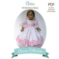 Clara in The Nutcracker Doll Dress PDF Sewing by MyAngieGirl via Etsy, $9.50