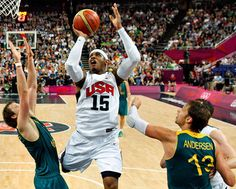Carmelo Anthony - USA wins Gold!!! #London2012 #Olympics