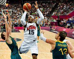 Carmelo Anthony - USA wins Gold!!! #London2012 #Olympics