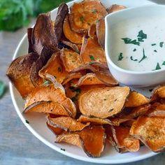 Sweet Potato Chips with Garlic Aioli Recipe - ZipList