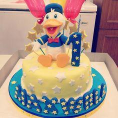 duck disney, donald duck, cake idea, cake design, birthday boy, decor cake, charact cake, duck cake, birthday cakes