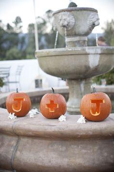 carved pumpkins, fall flower arrangements, carving pumpkins, wedding ideas, brides, pumpkin carvings, fall pumpkins, fall weddings, autumn decorations