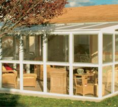 Sunroom on pinterest sun arbors and building plans Do it yourself sunroom