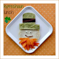 St. Patricks Day Food: Leprechaun Lunch st. patrick's day food decoration  decoración comida