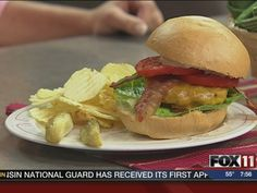 Ranch Burgers #recipe from WLUK FOX 11 Good Day Wisconsin Cooking with Amy Hanten. #recipes