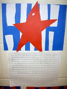 If I were Betsy Ross writing and Craftivity