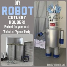 Cool idea for a Robot Party!