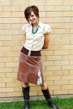 Like the skirt!