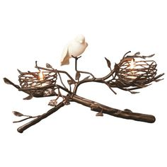 Bird's Nest Candelabra