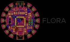 Announcing the FLORA, Adafruit's wearable electronics platform and accessories http://bit.ly/A2TyWQ