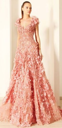 Rami Kadi Haute Couture 2012 dress collection, evening dresses, fashion, ball gowns, evening gowns, rami kadi, swarovski crystals, flower, haute couture