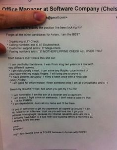 awesome resume :)