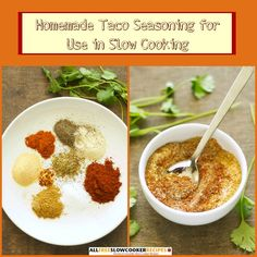 Homemade Taco Seasoning for Use in Slow Cooking