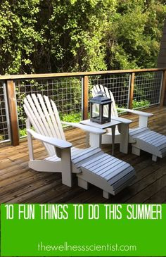 10 Fun Things To Do This Summer | thewellnessscientist.com