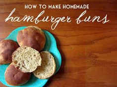 How to Make Your Own Whole Wheat Hamburger Buns Recipe  DIY Tutorial with Bread Machine