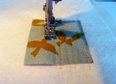 How to Make Quilted Patchwork Panels by Mrs. Fransson