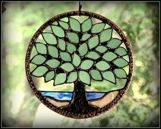Hey, I found this really awesome Etsy listing at http://www.etsy.com/listing/156267989/stained-glass-tree-summer-by-the-water