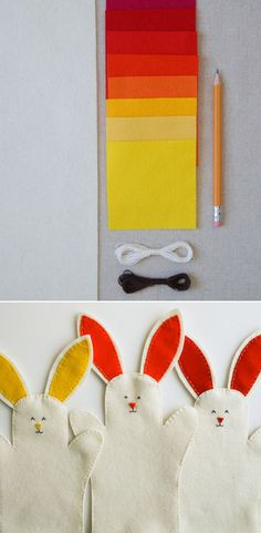 Bunny Hand Puppets | 50 Tiny And Adorable DIY Stocking Stuffers