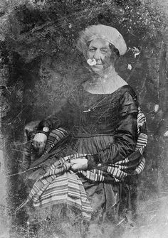 Matthew Brady daguerreotype of Dolly Madison, 1848.