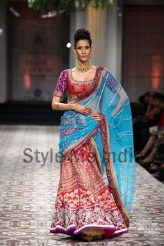Azva at Aamby Bridal Fashion Week 2012