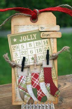 Jolly Christmas Tag...