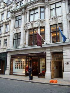 Mulberry* store on Bond Street.