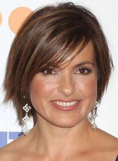 Short Hairstyles For Brunettes With Round Faces