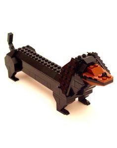 Lego Dog...looks like Rotz :)