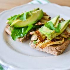 ... avocado asparagus tartine recipes dishmaps avocado tartine avocado