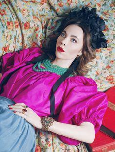 Ulyana Sergeenko For Garage, Uh I love her